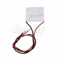 Thin Tec1-12715 136.8w Thermoelectric Peltier Cooler Cooling 40mm X 40mm X 3.6mm