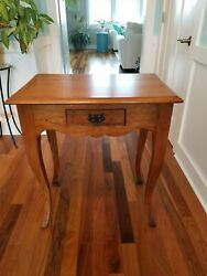 Wow Solid Wood Handmade French Country Farmhouse Side /nightstand/ Hall Table