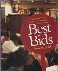 Best Bids Micucci, Dana Signed By Author