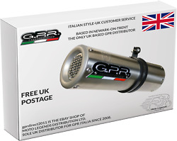 Benelli Leoncino 500 2017/19 E4 Exhaust Gpr M3 Stainless Steel Slip On