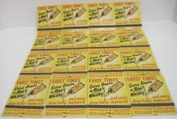 16 Unstruck Matchbooks Early Times Distillery Company In Awesome Condition