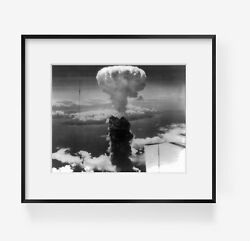 1945 August Photograph Of Second Atomic Bombing Of Nagasaki, Japan Subjects Wor