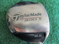 Tayloemade 300 Ti Driver 8.5/taylormade Tour S-90 Graphite Right-handed