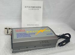 Genius Power Sine G-12-150s 12v 150w Compact And Portable Dc To Ac Power Inverter
