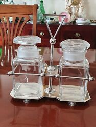 Wow Very Rare And Wonderful Art Nouveau Pickle Stand Christopher Dresser Hukin An