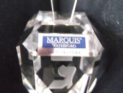 Waterford Marquis Crystal Dreidel Frosted Letters Hanukkah Collection Pre-owned