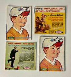 1964 Johnny Seven And Penny Brite Topper Toys Multi-fold Brochure Lot Of 4