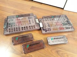 Lot Of 3 Straumann Dental Cassette Containers Cassettes. Empty