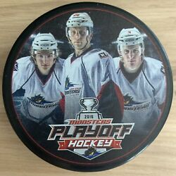 Lake Erie Monsters Ahl Hockey Puck 2016 Calder Cup Playoffs Player Photo Puck