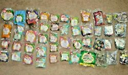 Lot Of 47 Mcdonalds Happy Meal And Burger King Kids Club Fast Food Toys 1998 New