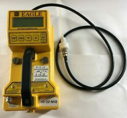 Rki Eagle Scout 401 Type 533 Portable Monitor Gases H2, O2, Co, Nh3 Detector