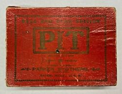 Pit Card Game - Bull And Bear Edition 1903