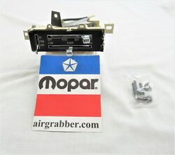 73 74 Charger Road Runner Satellite Strato Vent Non A/c Heater Control Housing