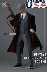 1/6 Gangster Wwii British Vintage Suit Set B For 12 Phicen Hot Toys Male Figure
