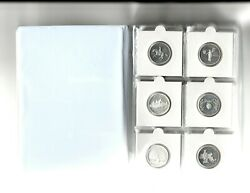 1999-2009 S Silver State Quarters Proof - 50 States + Territories Set