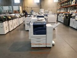 Xerox Workcentre 7855i Color Copier Printer Scanner With Stapling Finisher
