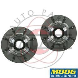 Moog Replacement Front Wheel Hub Bearings Pair For Ford F250 350 450 550 4wd