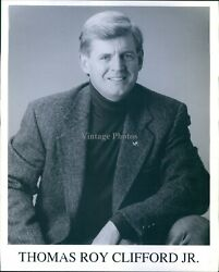Photo Actor Thomas Roy Clifford Jr Many Roles As Police Officer Soldier 8x10
