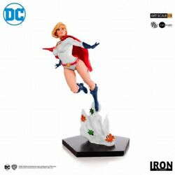 Iron Studios Dc Comic Power Girl 1/10th Painted Model Action Figure New In Stock