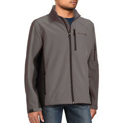 New Free Country Men's Lightweight Insulated Water-resistant Softshell Jacket