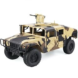 Rc Truck 110 Off Road Humvee Us Army 4x4 Hummer Rtr 4wd Jeep 2.4ghz Crawler Rgt