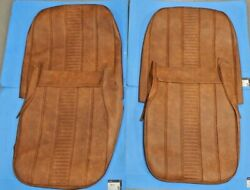 New Seat Covers Upholstery Set Mg Midget 1970-79 Autumn Leaf Made In Uk