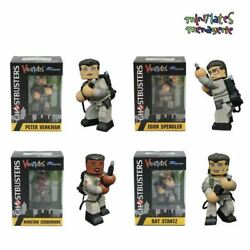 Set Of 4 Ghostbusters Diamond Select Vinimates Boxed 4 Action Figures