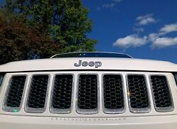 Crystallized Grille Inserts For Jeep Custom Car Bling W/ Crystals Front
