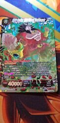 Ss4 Broly The Great Destroyer Scr Dragon Ball Super Card Game Nm