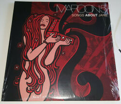 Maroon 5 Songs About Jane 2 Lp Tri-color Vinyl Only 500 Mint