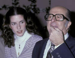 Phil Silvers Attends 50th Anniversary Party For Cbs 1978 Tv Old Photo 1
