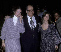 Phil Silvers Attends 50th Anniversary Party For Cbs 1978 Tv Old Photo 3