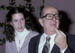 Phil Silvers Attends 50th Anniversary Party For Cbs 1978 Tv Old Photo 2