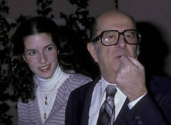 Phil Silvers Attends 50th Anniversary Party For Cbs 1978 Tv Old Photo 6