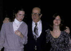 Phil Silvers Attends 50th Anniversary Party For Cbs 1978 Tv Old Photo 5