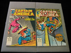 Captain America 291 And 292 Marvel 1984