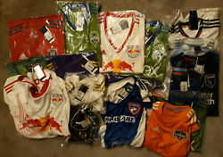 Adidas Mls Jerseys Lot Of 20 Assorted Menand039s Womenand039s Youth Brand New