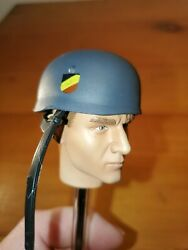 Wwii German Paratrooper Plastic Helmet Accessory For 12 Action Figure 16 Scale