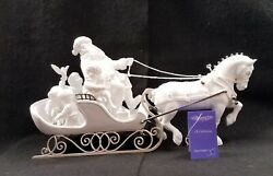 Dept 56 Winter Silhouette Treasures Peace And Good Will To All Limited Edition