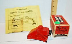 Lionel Illuminated Bumper---260---with Box And Instructions