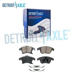 Front Ceramic Brake Pads With Hardware For 2013 - 2020 Ford Fusion Lincoln Mkz