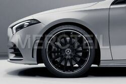 Genuine Mercedes Amg Set Of Black Alloy Wheels For A-class And Cla-class W177 C118