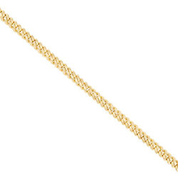 9 K Gold Solid Cuban Curb Chain -26- 6mm Rrp Andpound3920 {bc1_26_b} Uk Hallmarked...