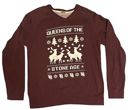 Queens Of The Stone Age Nsfw Christmas Sweater Xxl