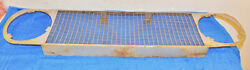1967 Shelby Mustang Gt350 Gt500 Fastback Original Front Outboard Grille Straight