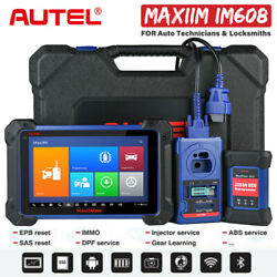 Global Autel Im608 Car Key Programmer Immobilizer Obd Ii Scanner Diagnostic Tool
