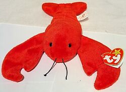 Pinchers Ty Beanie Baby Rare/retired Pvc Pellets Style 4026 1993 Slightly Used