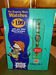 Burger King Store Sign Advertising The Rugrats Movie Watch Of The Week Chuckie