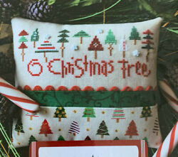 Lizzie Kate Cross Stitch Pattern ONLY O Christmas Tree Holiday $12.95