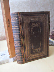 Testament And Psalms,american Bible Society,1864,h.l.blanchard, Wm.h.fox Library